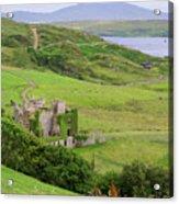 Clifden Castle Acrylic Print