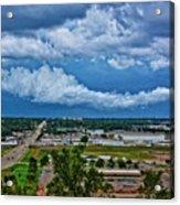 Cliff Avenue Storm Clouds Acrylic Print