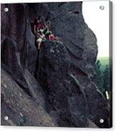 Cliff Dancers Acrylic Print