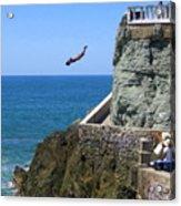 Cliff Divers Acrylic Print