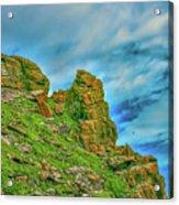 Cliff #h0 Acrylic Print
