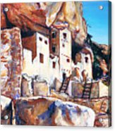 Cliff Palace Acrylic Print