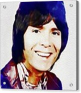 Cliff Richard, Music Legend Acrylic Print