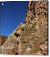 Cliffs At Bandelier Acrylic Print
