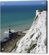 Cliffs At Beachy Head East Sussex Acrylic Print