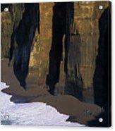 Cliffs At Blacklock Point Acrylic Print
