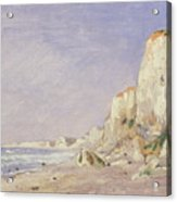 Cliffs Near Dieppe Acrylic Print