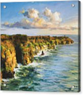 Cliffs Of Mohar 2 Acrylic Print