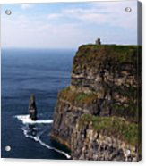Cliffs Of Moher County Clare Ireland Acrylic Print
