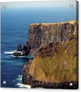Cliffs Of Moher Ireland View Of Aill Na Searrach Acrylic Print