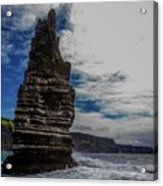 Cliffs Of Moher Stack Acrylic Print