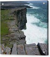 Cliffs Of The Aran Islands 5 Acrylic Print