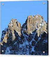 Climbers Sunlit Challenge Acrylic Print