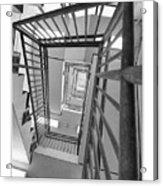 Climbing Stairs Acrylic Print