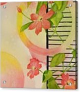 Climbing The Ladder Of Success Acrylic Print