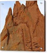 Climbing With The Gods Acrylic Print