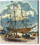 Clipper: Flying Cloud, 1851 Acrylic Print