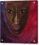 Cloaked Or Mask Acrylic Print