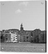 Clocher De Saint - Tropez Vue De La Mer  Acrylic Print