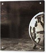 Clock - Id 16218-130649-1306 Acrylic Print
