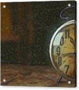 Clock - Id 16218-130715-1843 Acrylic Print
