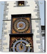 Clock Tower Acrylic Print