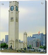 Clock Tower Montreal 1 Acrylic Print