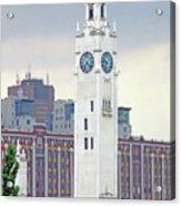 Clock Tower Montreal 2 Acrylic Print