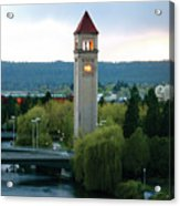 Clock Tower Acrylic Print