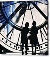 Clock Watching Acrylic Print
