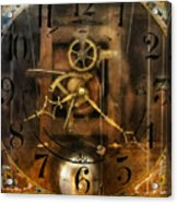 Clockmaker - A Sharp Looking Time Piece Acrylic Print