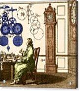 Clockmaker Acrylic Print