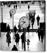 Clocks Acrylic Print