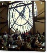 Clockwork Cafe Acrylic Print