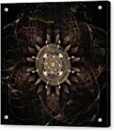 Clockwork Acrylic Print by John Edwards