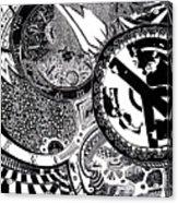 Clockwork Acrylic Print