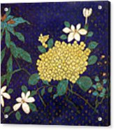 Cloisonee' Flower Acrylic Print