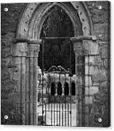 Cloister View Cong Abbey Cong Ireland Acrylic Print