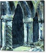 Cloisters Acrylic Print