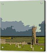 Clonmacnoise Monastery Acrylic Print