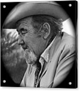 Close-up  Broderick Crawford Ted Degrazias Gallery In The Sun Tucson Arizona 1969-2008 Acrylic Print
