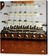 Close Up Electric Guitar Acrylic Print