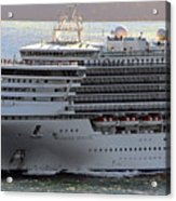 Close Up Of Diamond Princess Acrylic Print