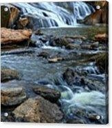 Close Up Of Reedy Falls In South Carolina Acrylic Print