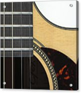 Close-up Of Steel-string Guitar Acrylic Print