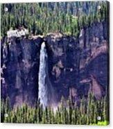 Close-up Telluride Falls Acrylic Print