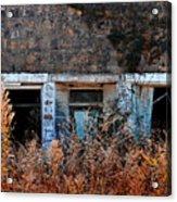 Closed 'til Spring Acrylic Print