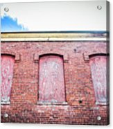 Closed Windows Acrylic Print