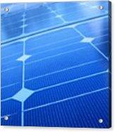 Closeup Of Solar Panels Acrylic Print