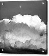 Cloud And Moon Acrylic Print